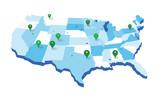 United States Geo Map - 232152676