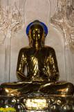 Buddha statue of the historic capital city of Bagan Myanmar (Burma) - 232157073