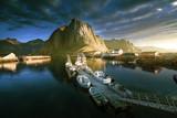 sunset - Reine, Lofoten islands, Norway - 232160494