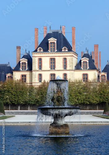 Fontainebleau royal castle