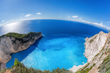 Navagio beach with shipwreck on Zakynthos island in Greece - 232166019