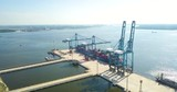Aerial view of Container Terminal - 232180838