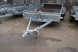 Open car trailer