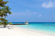 Summer house on tropical island