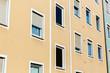 facade of an apartment block