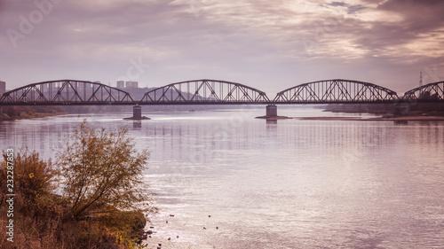 Most przez rzekę Wisłę w Grudziądzu