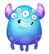 Cute Funny Monster - 232302644