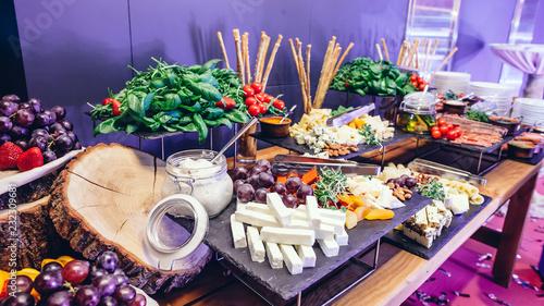 Foto Murales Catering party food
