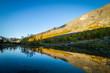Khibiny Mountains, reflection in the lake, Kola Peninsula