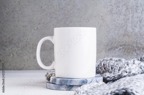 11oz white mug mogk up