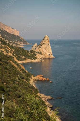 Foto Murales view of Sardinian coast