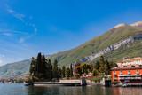 Town Tremezzina on Lake Como in Italy - 232326876