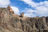 Charyn canyon is the famous place in Kazakhstan
