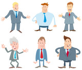 businessmen cartoon characters collection - 232333823