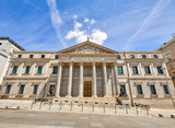 Madrid, Spain. Building of Spanish congress, parliament. Central - 232355842