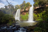 Iguacu Falls on the border of Brazil and Argentina