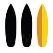 surfboard set illustration