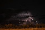 lightning strike at night - 232377467
