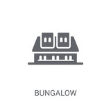 Bungalow icon. Trendy Bungalow logo concept on white background from Real Estate collection - 232399279
