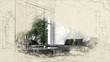 Architectural sketch or idea