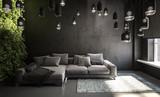 sofa in living room - 232426821