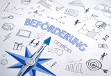 Beförderung (German word for job promotion) - 232427641