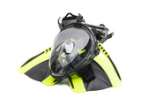 snorkel mask isolated - 232430661