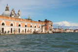 VENICE, ITALY- OCTOBER 30, 2018:  View of the city from the sea in autumn - 232433688