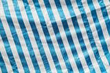 Creased plastic polyethylene film with stripes - 232439031