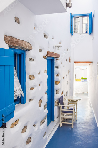 Traditional stone building on Koufonisia, Small Cyclades, Greece