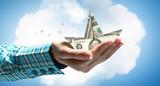 Protect your savings. Mixed media - 232453064