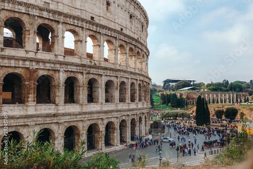 Koloseum w Rzymie. Włochy