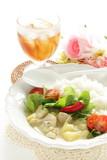 Homemade Thai cuisine, chicken green curry - 232464874