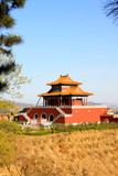 Tourist area entrance landscape architecture in Panshan Mountain scenic spot, china - 232466244
