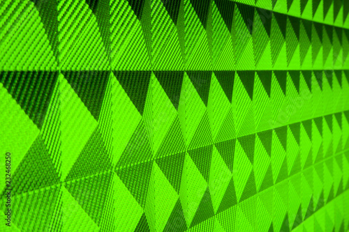 green leather texture or background - 232468250