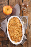 pear and apple crumble - 232480262