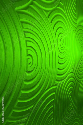 Leinwandbild Motiv green leather texture or background