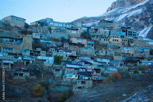 Wall mural горный аул