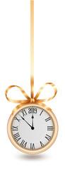 New Years Golden Clock © djahan