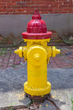 old colored fire hydrant © travelview