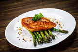 Grilled chicken breast and vegetables - 232512258