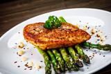 Grilled chicken breast and vegetables - 232512453