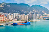 View of harbor in Gibraltar. - 232523637