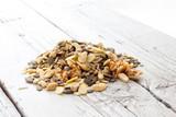 pumpkin sunflower seeds cashews - 232533227