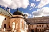 Krasiczyn, Poland. The castle was visited by many Polish kings. Krasicki Palace