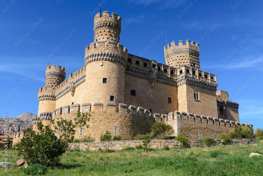 Naklejka Na Sciany I Meble New Castle Of Manzanares El Real
