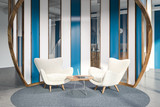Office lounge with armchairs - 232550635