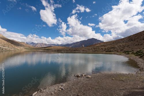 スピティ谷 ダンカル湖(ダンカル・ツォ)