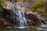 石川県 姥ヶ滝の紅葉