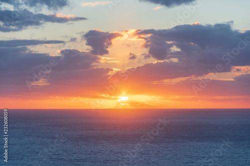 Sunset in Torre del Verger, Majorca, Spain